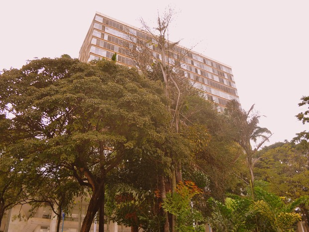 Palácio dos Jequitibás, sede da Prefeitura de Campinas (Foto: Luciano Calafiori/G1)