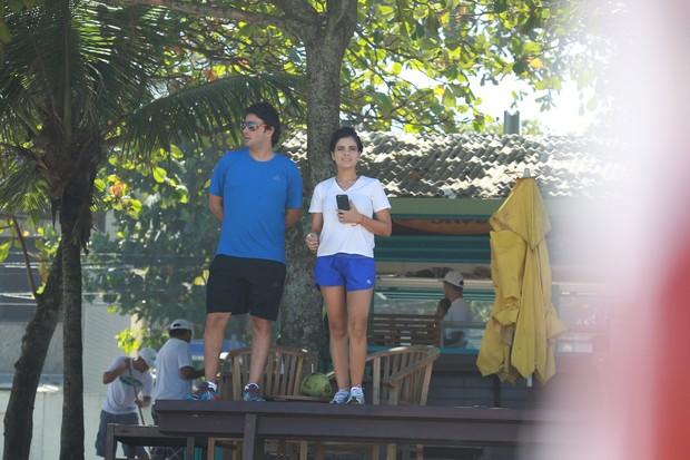 Vanessa Giácomo com o marido, Giuseppe Dioguardi (Foto: AgNews/Dilson Silva)