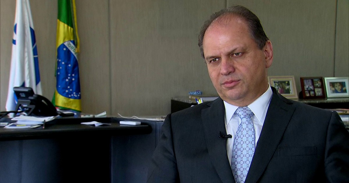 Resultado de imagem para Ministro da Saúde fala ao Fantástico após polêmica com remédio chinês