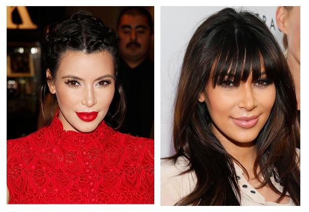 Adoramos as trancinhas de Kim Kardashian... ficou um luxo só! (Foto: Getty Images)