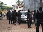 Polícia realiza operação em Arapiraca, AL, para combater o tráfico de drogas