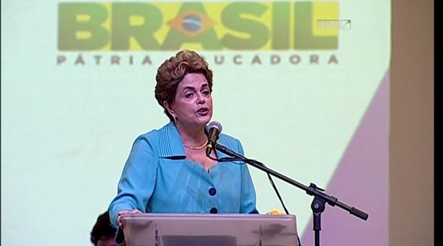 Eduardo Cunha é o 'pecado original', afirma Dilma