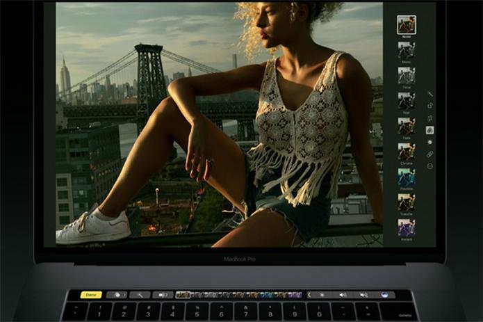 Touch Bar já tem suporte em todos os apps nativos do macOS (Foto: Divulgação/Apple)