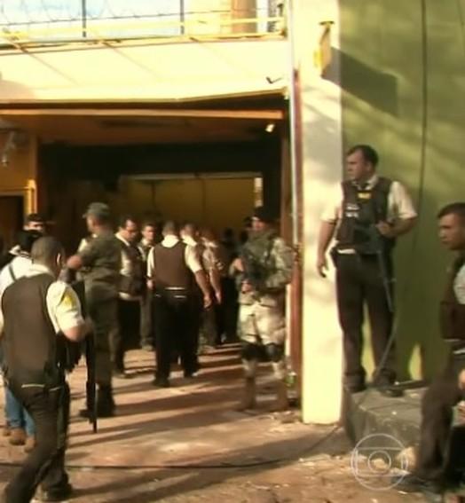 violência na fronteira com o brasil (TV Globo)