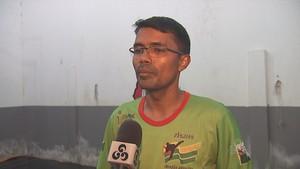 Leddinho, técnico da Seleção Acreana de Taekwondo (Foto: Reprodução/TV Acre)