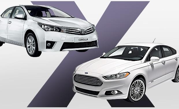 Qual Comprar: Ford Fusion ou Toyota Corolla? (Foto: Autoesporte)
