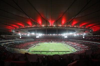 Maracanã Flamengo x San Lorenzo (Foto: Gilvan de Souza/Divulgação Flamengo)