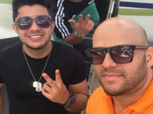 Motorista de Cristiano Araújo, também vítima do acidente que matou o cantor, está abalado Goiás Goiânia (Foto: Reprodução/TV Anhanguera)