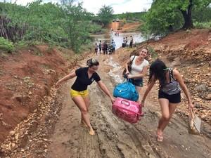 Profissiomais da saúde têm dificuldades para chegar à cidade (Foto: Divulgação/Prefeitura de Dom Inocêncio)