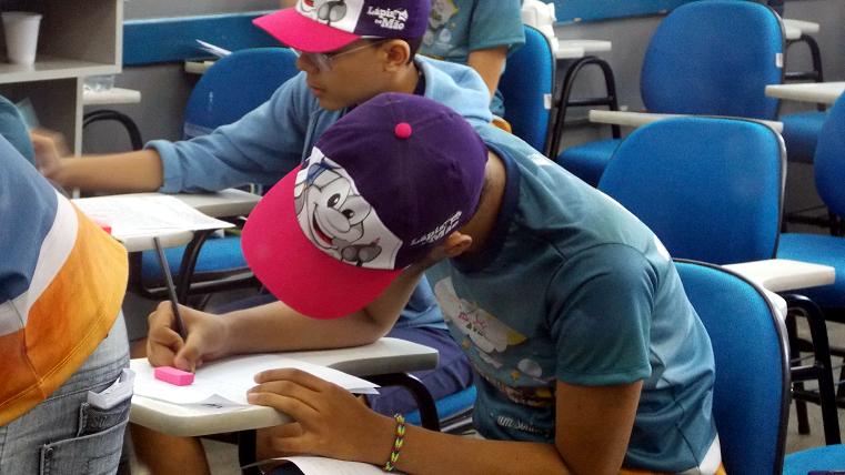 Projeto Lápis na Mão 2014 (Foto: divulgação)