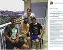 Rhodolfo trata lesão no Grêmio, afina amizade e engrossa torcida por tri