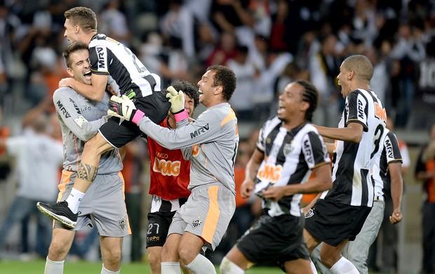 Victor Atlético-MG festa título Libertadores (Foto: AFP)