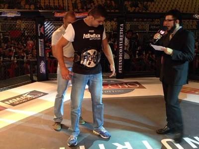 André Muniz (Sergipano) - lutador MMA - Montes Claros/MG. (Foto: Arquivo Pessoal)