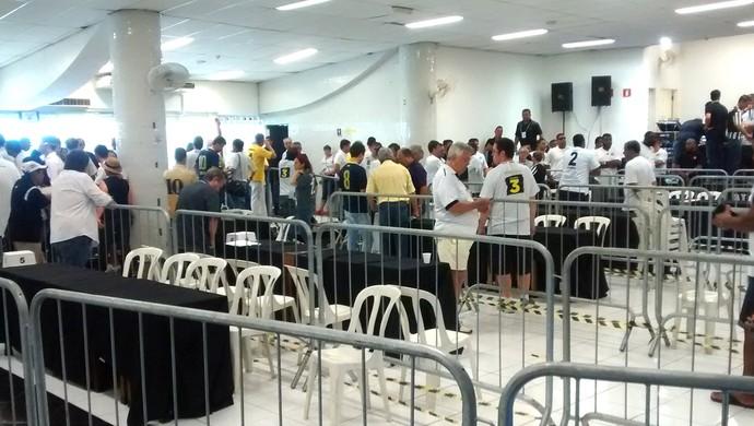 eleição Santos (Foto: Cassio Lyra)