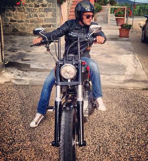 Michele Santucci Raia Rápida moto (Foto: Reprodução / Instagram)