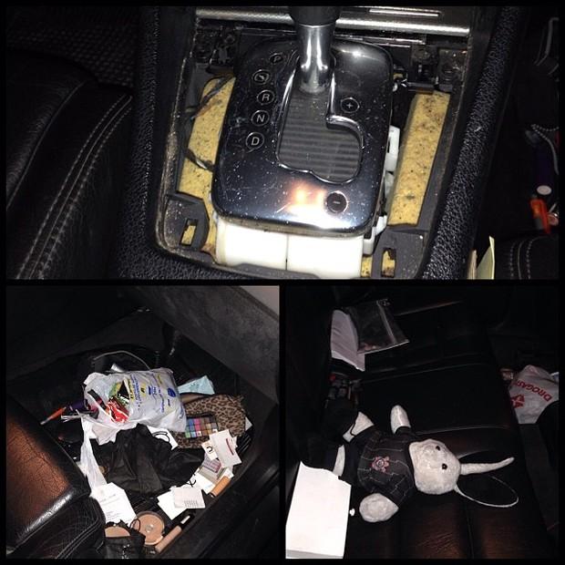 Carro de Thammy Miranda (Foto: Instagram/ Reprodução)
