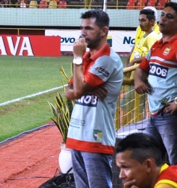 Zé Marco, técnico do Galvez (Foto: Duaine Rodrigues)