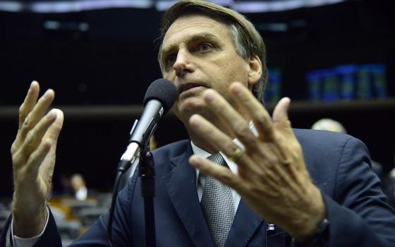 O deputado federal Jair Bolsonaro (Foto: Nilson Bastian / Câmara dos Deputados)