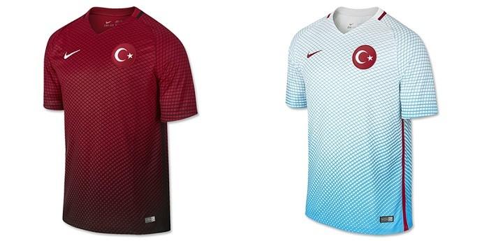Camisas Eurocopa turquia