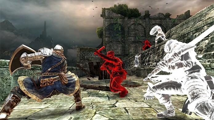 Dark Souls 2 em versão repaginada na nova geração (Foto: Divulgação)