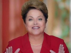 Dilma aparece em seu último programa no horário eleitoral