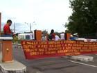 Servidores da Ufes protestam contra PEC 55, em Vitória
