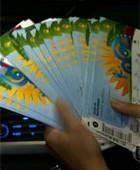 Taxista devolve 40 ingressos perdidos em SP (reprodução/tv globo)