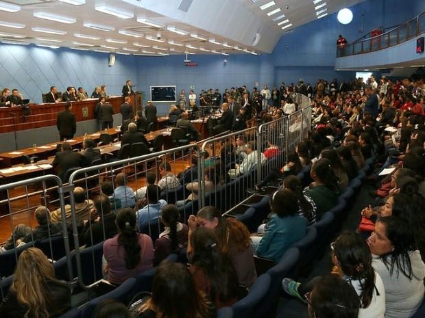 Discussões sobre plano de educação, em Campinas, duraram quatro horas na Câmara (Foto: Câmara Municipal de Campinas)
