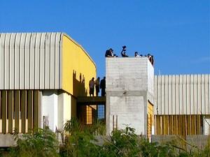 Jovens infratores na unidade da Fundação Casa no bairro San Martin, em Campinas (Foto: Reprodução / EPTV)