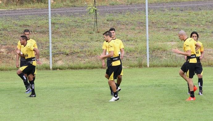 Criciúma treino (Foto: Fernando Ribeiro/Criciúma EC)