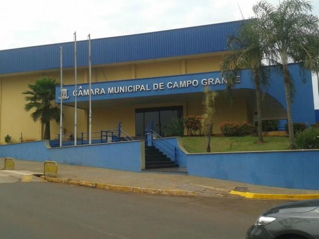 Câmara Municipal de Campo Grande, MS (Foto: Osvaldo Nóbrega/ TV Morena)