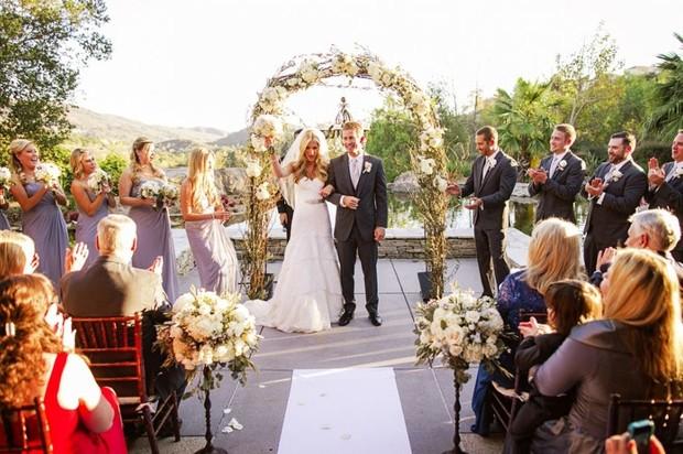 Paul Walker no casamento do irmão (Foto: Chard Photographer/Site Oficial)
