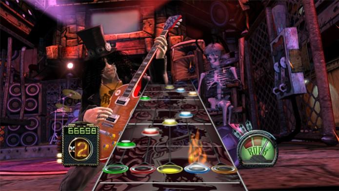 Guitar Hero teve diversos jogos de muito sucesso na franquia (Foto: Divulgação/Activision)