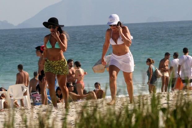 Zilu na praia da Barra da Tijuca, Zona Oeste do Rio (Foto: Marcos Ferreira/PhotoRioNews)