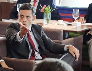 reunião clubes sobre Uefa - Marcos Motta, advogado (Foto: Vicente Seda)