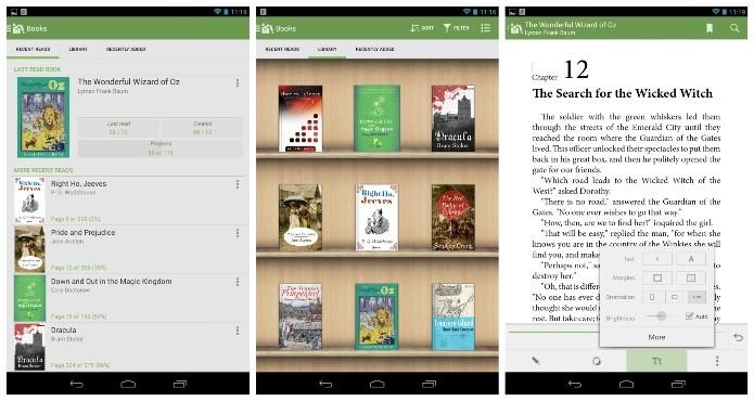 No Aldiko é possível baixar e ler diversos livros no seu Android (Foto: Divulgação)