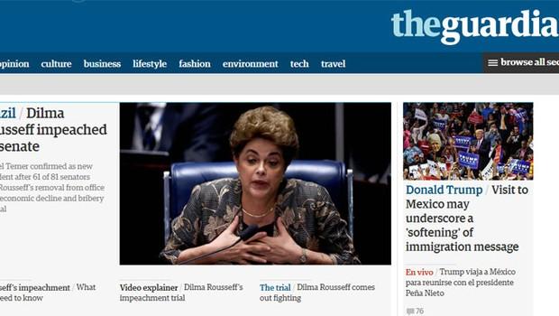 Imprensa internacional repercute destituição de Dilma