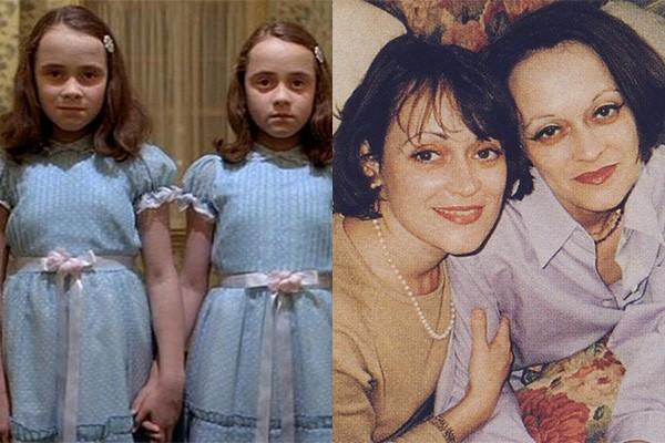 As irmãs Lisa e Louise Burns são talvez duas das crianças mais assustadoras do cinema. Elas viveram as gêmeas Grady em 'O Iluminado', adaptação cinematográfica do clássico de Stephen King. (Foto: Divulgação)