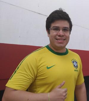 Breno Prado disse jamais ter visto a bilheteria tão vazia antes de um confronto com o Vasco (Foto: Vicente Seda)