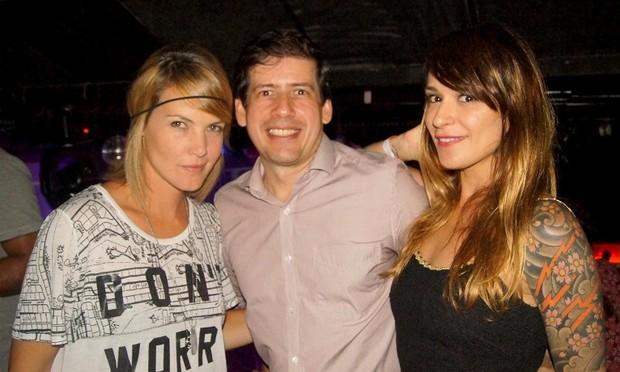 Diana Balsini, André Porto e Bianca Jahara (Foto: Carol Grosskopf/MF Models assessoria/Divulgação)