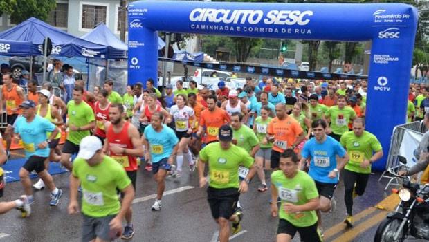 Largada da edição 2015 do Circuito Sesc será realizada em Cornélio Procópio (Foto: Divulgação)