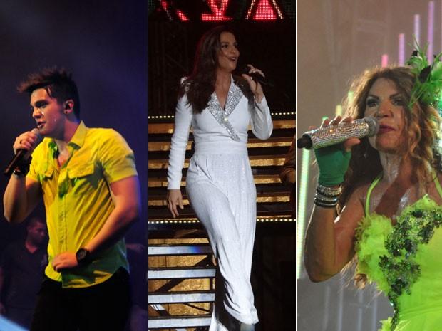 Luana Santana. Ivete Sangalo e Elba Ramalho são as atrações deste final de semana em PE (Foto: G1 Pernambuco)