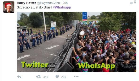 whats (Foto: Reprodução/Twitter)
