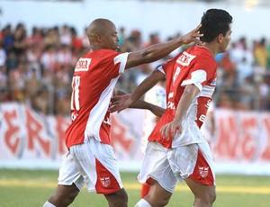 Denison e Tozin em Penedo (Foto: Ailton Cruz/ Gazeta de Alagoas)