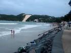 Praia de Ponta Negra está imprópria para banho, aponta balneabilidade