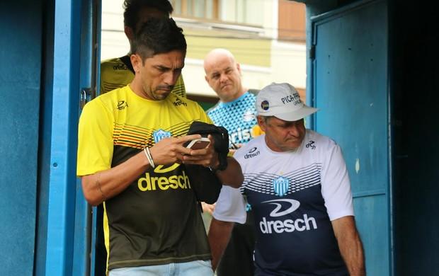 Luís Mário, ex-Grêmio e hoje no Novo Hamburgo
