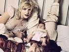 Courtney Love posta fotos antigas para lembrar Kurt Cobain: 'Saudade'