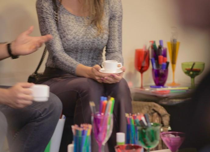 Pausa para o cafezinho! (Foto: Gshow)