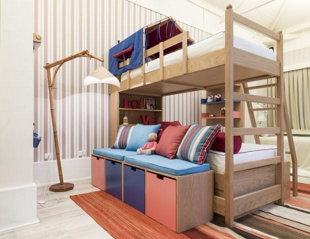 13 quartos com belas ideias para casa Casa Vogue Decoração ~ Quarto Rosa Goiaba