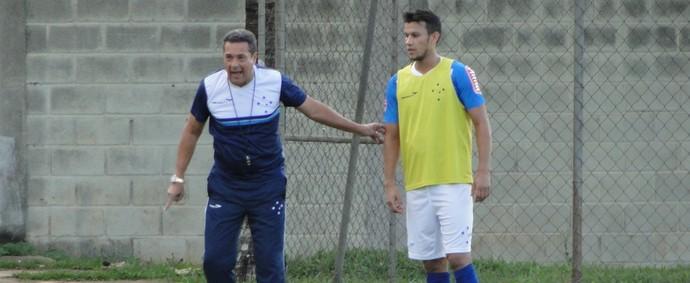 Treino do Cruzeiro, Toca da Raposa II (Foto: Marco Antônio Astoni)